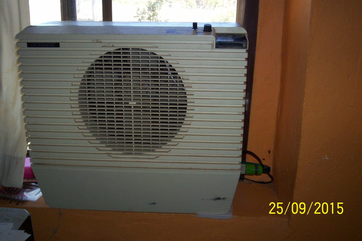 Evaporative Cooler Converted To 12 Volt To Run On Solar
