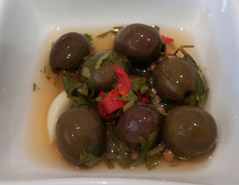 home made cured olives with coriander chilli and lemon.jpg