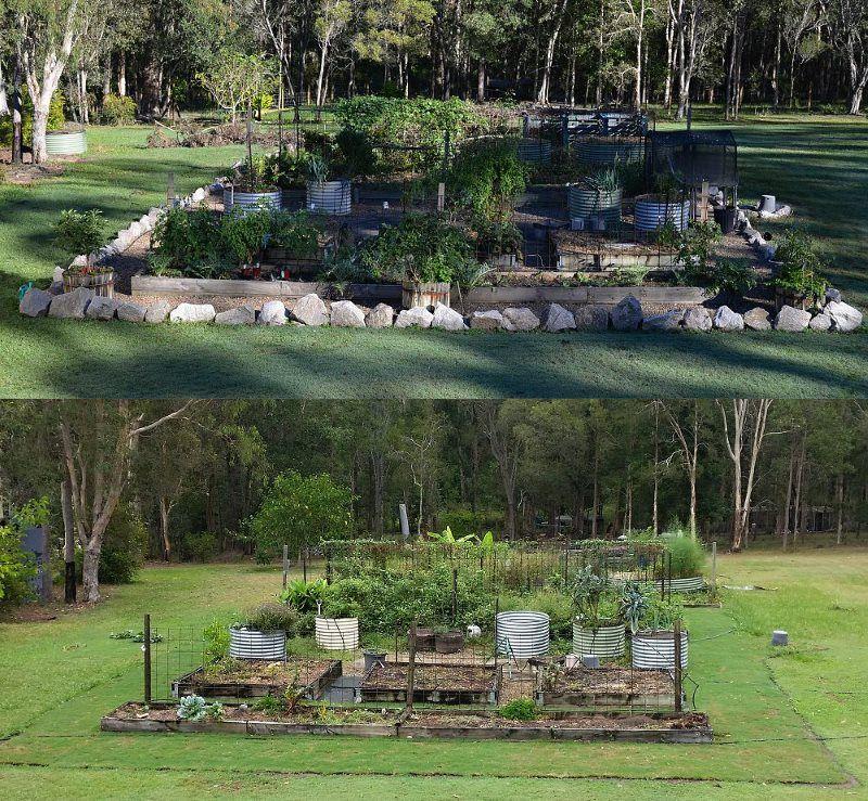 Synthetic Grass Turf Around My Vegetable Garden Self