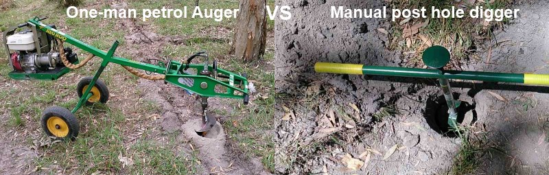 one man petrol auger vs manual post hole digger.jpg