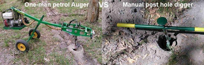 one man petrol auger vs manual post hole digger.jpg