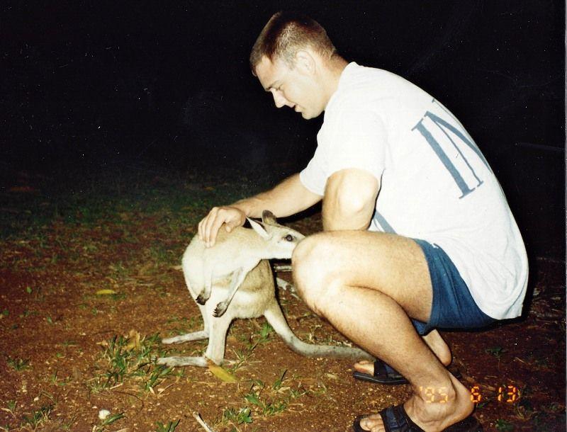 wallaby pat at Lockhart river Mark.jpg